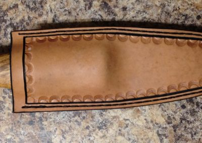 One Off Drop Point Sheath