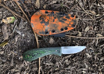 Small Game Hunter and Sheath